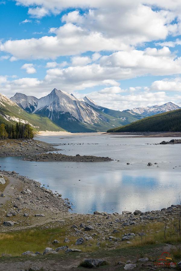 Maligne Valley View, Jasper National Park, Alberta, Canada.