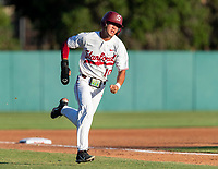 STANFORD, CA - JUNE 5: Adam Crampton during a game between UC Irvine and Stanford Baseball at Sunken Diamond on June 5, 2021 in Stanford, California.