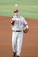Taylor Ard #35 of the Washington State Cougars plays against the Arizona State Sun Devils on April 15, 2011 at Packard Stadium, Arizona State University, in Tempe, Arizona. .Photo by:  Bill Mitchell/Four Seam Images.