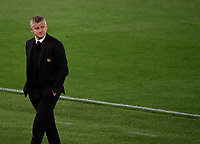 Football: Uefa Europa League - semifinal 2nd leg AS Roma vs Manchester United Olympic Stadium. Rome, Italy, May 6, 2021.<br /> Manchester United's coach Ole Gunnar Solskjaer looks on during the Europa League football match between Roma and Manchester United at Rome's Olympic stadium, Rome, on May 6, 2021.  <br /> UPDATE IMAGES PRESS/Isabella Bonotto