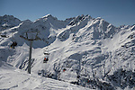 Riffel 2 Chairlift, Rendl Ski Area at St Anton, Austria,