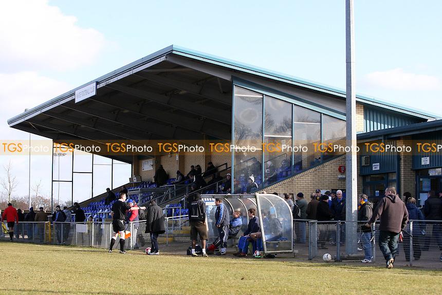 Main stand at Wodson Park - Ware vs Romford - Ryman League Division One North at Wodson Park - 06/03/10 - MANDATORY CREDIT: Gavin Ellis/TGSPHOTO - Self billing applies where appropriate - Tel: 0845 094 6026