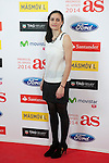 Angela Salvadores poses during AS Sport Female Awards ceremony in Madrid, Spain. December 15, 2014. (ALTERPHOTOS/Victor Blanco)
