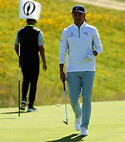 140719 | The 148th Open - Sunday Practice<br /> <br /> Ricky Fowler on the 12th green during practice for the 148th Open Championship at Royal Portrush Golf Club, County Antrim, Northern Ireland. Photo by John Dickson - DICKSONDIGITAL