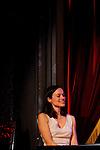 BABATE ORCHESTRA....Jean-Marc ZELWER ? Compositeur, Santour, Accordéon, Clarinette..Woz KALY ? Chant profond..Alessandra AGOSTI ? Piano subtil..Pierre MAINDIVE ? Contrebassémotion..Philippe CHAIGNON ? Percussions, lutheries digitales et électroacoustiques..Cadre : Lundi c'est Rémy..Lieu : Comedy Club..Ville : Paris..Le 18/02/2013..© Laurent Paillier / photosdedanse.com