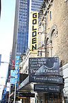 'Three Tall Women' - Theatre Marquee