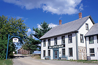 New Brunswick, NB, Canada, King's Head Inn at King's Landing Historical Settlement