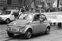 - Milan, trade-union demonstration of  metal mechanics workers (1978)....- Milano, manifestazione sindacale degli operai metalmeccanici (1978)