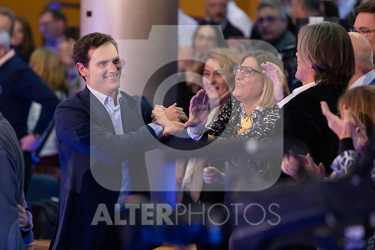 "President of citizen Albert Rivera during the citizen meeting ""Espana en marcha"". October 24, 2019. (ALTERPHOTOS/Johana Hernandez)"