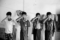 Child soldiers that deserted from the Tatmadaw are held in Laiza, headquarters of the Kachin Independence Organisation (KIO) located near the China border. The KIO's military wing, the Kachin Independence Army (KIA), has been fighting with the government since a seventeen-year ceasefire unraveled in 2011, the same year reforms were introduced. The KIO formed the Northern Alliance bloc in 2016 with several non-ceasefire groups.