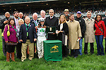 """October 03, 2015: Fioretti and jockey Sophie Doyle win the 35th running of the Thoroughbred Club of America (Grade 2) $250,000 """"Win and You're In Filly & Mare Sprint Division"""" for trainer Anthony Hamilton Jr. and owner Two Hearts Farm. Samantha Bussanich/ESW/Cal Sport Media"""