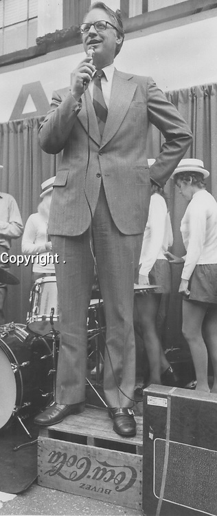 1971 FILE PHOTO -<br /> <br /> Liberal leader Robert Nixon. Says he's fed up being Mr. Nice Guy