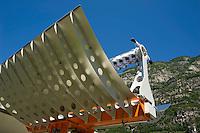 Airlight Energy, Biasca, Airlight Energy, prototipo parabolico lineare a 2 assi di rotazione