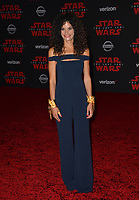 """Ashley Dyke at the world premiere for """"Star Wars: The Last Jedi"""" at the Shrine Auditorium. Los Angeles, USA 09 December  2017<br /> Picture: Paul Smith/Featureflash/SilverHub 0208 004 5359 sales@silverhubmedia.com"""