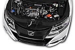 Car Stock 2016 Honda Civic Tourer Executive 5 Door Wagon Engine  high angle detail view