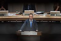 Abgeordnetenhaussitzung am 28. Januar 2016 in Berlin.<br /> Im Bild: Sozialsenator Mario Czaja (CDU) waehrend der Debatte zur Massenunterkunft auf dem Gelaende des ehemaligen Flughafen Tempelhof.<br /> 28.1.2016, Berlin<br /> Copyright: Christian-Ditsch.de<br /> [Inhaltsveraendernde Manipulation des Fotos nur nach ausdruecklicher Genehmigung des Fotografen. Vereinbarungen ueber Abtretung von Persoenlichkeitsrechten/Model Release der abgebildeten Person/Personen liegen nicht vor. NO MODEL RELEASE! Nur fuer Redaktionelle Zwecke. Don't publish without copyright Christian-Ditsch.de, Veroeffentlichung nur mit Fotografennennung, sowie gegen Honorar, MwSt. und Beleg. Konto: I N G - D i B a, IBAN DE58500105175400192269, BIC INGDDEFFXXX, Kontakt: post@christian-ditsch.de<br /> Bei der Bearbeitung der Dateiinformationen darf die Urheberkennzeichnung in den EXIF- und  IPTC-Daten nicht entfernt werden, diese sind in digitalen Medien nach §95c UrhG rechtlich geschuetzt. Der Urhebervermerk wird gemaess §13 UrhG verlangt.]