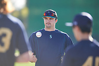 Ryan Scott coaches for the Nationals during the Under Armour Baseball Factory Recruiting Classic at Gene Autry Park on December 27, 2017 in Mesa, Arizona. (Zachary Lucy/Four Seam Images)