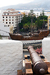 Spain, Canary Islands, La Palma, Santa Cruz de La Palma: capital  - Castillo de la Virgen