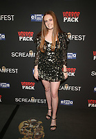 HOLLYWOOD, CA - OCTOBER 12: Clare Foley, at the 21st Screamfest Opening Night Screening Of The Retaliators at Mann Chinese 6 Theatre in Hollywood, California on October 12, 2021. Credit: Faye Sadou/MediaPunch