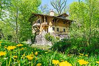 Historisches Schweizerhaus, Klein Glienicke, Potsdam, Brandenburg, Deutschland