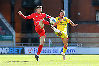 Craig Clay of Leyton Orient and Josh Gordon of Walsall during Leyton Orient vs Walsall, Sky Bet EFL League 2 Football at The Breyer Group Stadium on 5th April 2021
