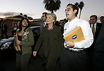1/10/08,Las Vegas,Nevada  ---  Democratic presidential hopeful Senator Hillary Rodham Clinton (D-New York) greets residents as she campaigns in a neighborhood during a stop in Las Vegas. The Nevada caucus is January 19th.  --- Chris Farina