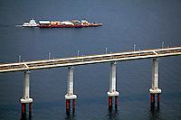 Aerea da Ponte Rio Negro em Manaus. Amazonas. 2011. Foto de Rogerio Reis..