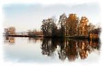 Deutschland, Bayern, Chiemgau, Rupertiwinkel: Herbststimmung am Tachinger See | Germany, Bavaria, Chiemgau, Rupertiwinkel: autumn scenery at Lake Taching