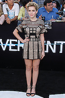 """WESTWOOD, LOS ANGELES, CA, USA - MARCH 18: Kiernan Shipka at the World Premiere Of Summit Entertainment's """"Divergent"""" held at the Regency Bruin Theatre on March 18, 2014 in Westwood, Los Angeles, California, United States. (Photo by Xavier Collin/Celebrity Monitor)"""