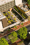 Aerial View of Hotel Modera, Portland, Oregon