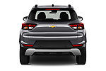 Straight rear view of 2021 Chevrolet Trailblazer LT 5 Door SUV Rear View  stock images