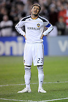 Los Angeles Galaxy midfielder David Beckham (23).    DC United tied  Los Angeles Galaxy 1-1, at RFK Stadium, Saturday April 9, 2011.