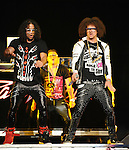 LMFAO performs live at Staples Center in Los Angeles, California on March 29,2010                                                                   Copyright 2010  DVS / RockinExposures
