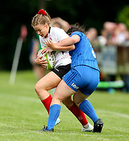 24 August 2019; Diane Ramsay during the Women's Interprovincial Championship match between Ulster and Leinster at Armagh RFC in Armagh. Photo by John Dickson / DICKSONDIGITAL