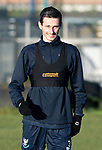 St Johnstone Training…28.12.18    McDiarmid Park<br />Scott Tanser pictured during training this morning ahead of tomorrow's game at Dundee.<br />Picture by Graeme Hart.<br />Copyright Perthshire Picture Agency<br />Tel: 01738 623350  Mobile: 07990 594431