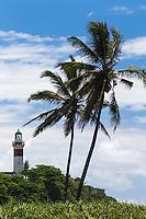 France, île de la Réunion, Sainte Suzanne, Phare de Sainte-Suzanne ou  Phare de Bel-Air // France, Ile de la Reunion (French overseas department), Sainte Suzanne, Sainte-Suzanne Lighthouse