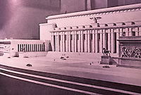 Nazi Art: The Soldatenhalle, Berlin. A planned hall of fame for military heroes.  Robert R. Taylor, THE WORD IN STONE.  Reference only.