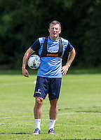 Garry Thompson during the Wycombe Wanderers 2016/17 Pre Season Training Session at Wycombe Training Ground, High Wycombe, England on 1 July 2016. Photo by Andy Rowland / PRiME Media Images.
