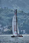 The GC32 is the one design for the future Great Cup Racing circuit, Austria Cup, Lake Traunsee, Gmunden, Austria. Day One