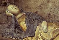 Europe/France/Auvergne/43/Haute-Loire/Brioude: La basilique Saint Julien - Vierge parturiente XIVème siècle