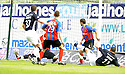 10/05/2008   Copyright Pic: James Stewart.File Name : sct_jspa01_falkirk_v_ict.MICHAEL HIGDON SCORES FALKIRK'S FIRST.James Stewart Photo Agency 19 Carronlea Drive, Falkirk. FK2 8DN      Vat Reg No. 607 6932 25.Studio      : +44 (0)1324 611191 .Mobile      : +44 (0)7721 416997.E-mail  :  jim@jspa.co.uk.If you require further information then contact Jim Stewart on any of the numbers above........
