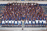 SAN ANTONIO, TX - DECEMBER 6, 2020: The University of Texas at San Antonio Roadrunners Football Team Photos at the Historic UTSA Convocation Center (Photo by Jeff Huehn).
