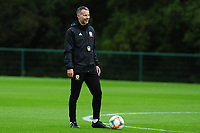 Ryan Giggs Manager of Wales during the Wales Training Session at The Vale Resort in Cardiff, Wales, UK. Saturday 12 October 2019