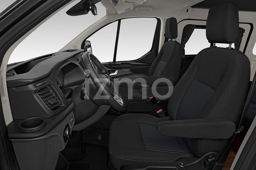 Front seat view of 2020 Ford Transit-Custom Nugget 4 Door Camper Van Front Seat  car photos