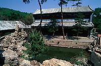 China, Chengde, Sommerpalast, Bibliothek (WenJin-Pavillon), Unesco-Weltkulturerbe
