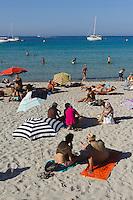 Strand von L'Ile Rousse, Korsika, Frankreich