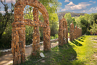 Stations of the cross at Santuario de Chimayo, New Mexico