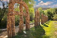 Stations of the cross at Santuario de Chimayo, New Mexico