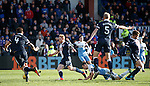 Jason Holt goes down in the box and earns a booking