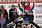 NASCAR Camping World Truck Series<br /> Stratosphere 200<br /> Las Vegas Motor Speedway, Las Vegas, NV USA<br /> Friday 2 March 2018<br /> Kyle Busch, Kyle Busch Motorsports, Toyota Tundra Cessna wins<br /> World Copyright: Rusty Jarrett<br /> NKP / LAT Images